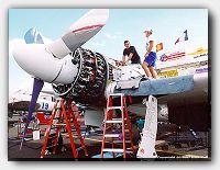 Rare Bear's Huge Radial Engine